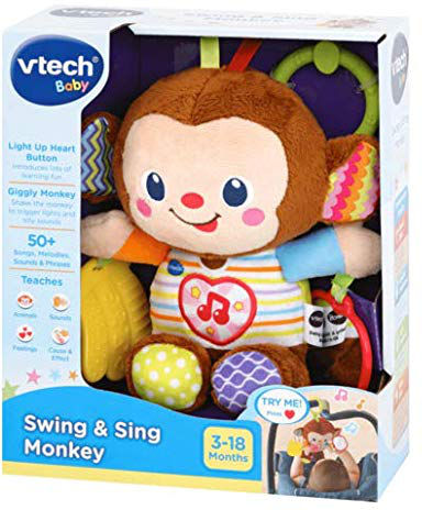 Vtech sing and swing monkey