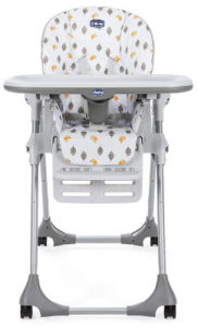 Chicco Polly Easy 4 wheels high chair