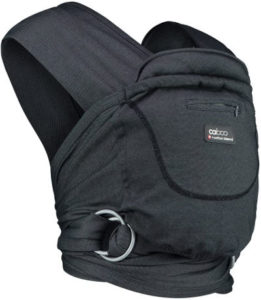 Close Caboo multi position baby carrier